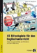 Cover-Bild zu 45 Rätselspiele für den Englischunterricht (eBook) von Schütz, Wolfgang