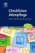 Cover-Bild zu Checklisten Altenpflege von Elsevier GmbH (Hrsg.)