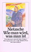 Cover-Bild zu Wie man wird, was man ist von Nietzsche, Friedrich