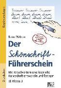 Cover-Bild zu Der Schönschrift-Führerschein von Wehren, Bernd