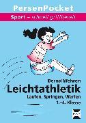 Cover-Bild zu Leichtathletik. Sport - schnell griffbereit von Wehren, Bernd