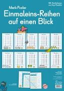 Cover-Bild zu Merkposter: Einmaleins-Reihen auf einen Blick von Redaktionsteam Verlag an der Ruhr