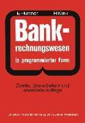 Cover-Bild zu BANK-Rechnungswesen in programmierter Form (eBook) von Hüttner, Erich