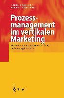 Cover-Bild zu Prozessmanagement im vertikalen Marketing von Borchert, Stefan