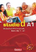Cover-Bild zu Studio d, Deutsch als Fremdsprache, Grundstufe, A1: Teilband 1, Sprachtraining von von Eggeling, Rita Maria