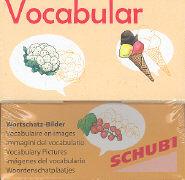 Cover-Bild zu Vocabular Wortschatzbilder - Obst, Gemüse, Lebensmittel von Lehnert, Susanne