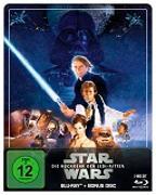 Cover-Bild zu Star Wars: Episode VI - Die Rückkehr der Jedi-Ritter Steelbook Edition von Richard Marquand (Reg.)
