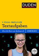 Cover-Bild zu Übungsblock: Mathematik - Textaufgaben 4. Klasse von Müller-Wolfangel, Ute