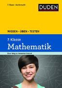 Cover-Bild zu Wissen - Üben - Testen: Mathematik 7. Klasse von Witschaß, Timo