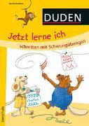 Cover-Bild zu Duden: Jetzt lerne ich schreiben mit Schwungübungen (Heft) von Holzwarth-Raether, Ulrike