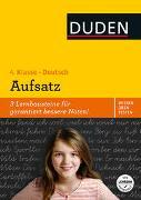 Cover-Bild zu Wissen - Üben - Testen: Deutsch - Aufsatz 4. Klasse von Holzwarth-Raether, Ulrike