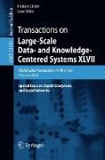 Cover-Bild zu Transactions on Large-Scale Data- and Knowledge-Centered Systems XLVII (eBook) von Hameurlain, Abdelkader (Hrsg.)