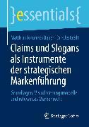 Cover-Bild zu Claims und Slogans als Instrumente der strategischen Markenführung (eBook) von Bauer, Matthias Johannes