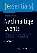 Cover-Bild zu Nachhaltige Events (eBook) von Holzbaur, Ulrich