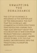Cover-Bild zu Unmapping the Renaissance von Wing, Carlin