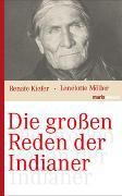 Cover-Bild zu Die grossen Reden der Indianer von Möller, Lenelotte (Hrsg.)
