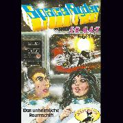 Cover-Bild zu Space Ryder SR-447, Folge 1: Das unheimliche Raumschiff (Audio Download) von Winkel, Swetlana