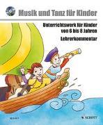 Cover-Bild zu Musik voraus - Musik und Tanz für Kinder von Nykrin, Rudolf