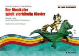 Cover-Bild zu Der Musikater spielt vierhändig Klavier von Nykrin, Rudolf