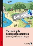 Cover-Bild zu Tierisch gute Lesespurgeschichten (eBook) von Holthausen, Luise
