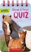 Cover-Bild zu Pferde und Ponys - Quiz von Oftring, Bärbel