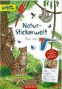 Cover-Bild zu Natur-Stickerwelt - Wilde Tiere von Warnecke, Ruby Anna (Illustr.)