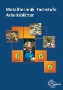 Cover-Bild zu Metalltechnik Fachstufe Arbeitsblätter von Schellmann, Bernhard