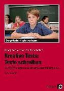 Cover-Bild zu Kreative Tests: Texte schreiben 5./6. Klasse von Bemmerlein, Georg