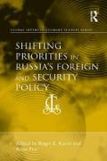 Cover-Bild zu Shifting Priorities in Russia's Foreign and Security Policy (eBook) von Piet, Rémi (Hrsg.)