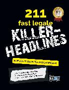 Cover-Bild zu 211 fast legale Killer-Headlines (eBook) von van den Bahr, Piet