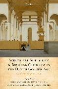 Cover-Bild zu Scriptural Authority and Biblical Criticism in the Dutch Golden Age (eBook) von Nellen, Henk