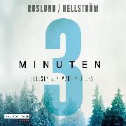 Cover-Bild zu Drei Minuten (Audio Download) von Roslund, Anders