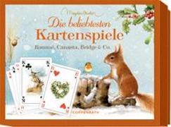 Cover-Bild zu Schachtelspiel - Die beliebtesten Kartenspiele von Bastin, Marjolein (Illustr.)