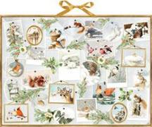 Cover-Bild zu Wandkalender - Marjoleins Wintergalerie von Bastin, Marjolein (Illustr.)