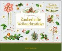 Cover-Bild zu Stickerbuch - Zauberhafte Weihnachtssticker (Marjolein Bastin) von Bastin, Marjolein (Illustr.)