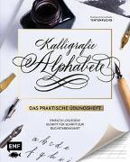 Cover-Bild zu Kalligrafie Alphabete - Das praktische Übungsheft von Safarik, Natascha