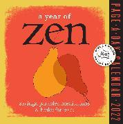Cover-Bild zu A Year of Zen Page-A-Day Calendar 2022 von Workman Calendars