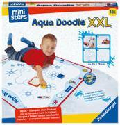 Cover-Bild zu Ravensburger ministeps 4180 Aqua Doodle XXL, Große Malmatte für fleckenfreies erstes Malen mit Wasser, für Kinder ab 18 Monate, inkl. Matte und Stift