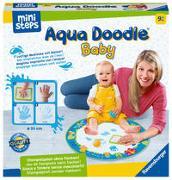 Cover-Bild zu Ravensburger ministeps 4181 Aqua Doodle Baby - Fleckenfreies Stempeln mit Wasser - Erstes Stempelset für Babys ab 9 Monaten - Mit magischer Stoffmatte