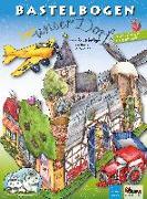 Cover-Bild zu Unser Dorf Bastelbogen von Völtzke, Kurt (Illustr.)