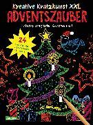Cover-Bild zu Kreative Kratzkunst XXL: Adventszauber: Set mit 24 Kratzbildern, Anleitungsbuch und Holzstift von Mildner, Christine