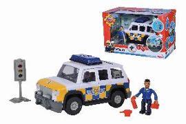 Cover-Bild zu Feuerwehrmann Sam - Polizeiauto 4x4