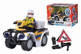 Cover-Bild zu Feuerwehrmann Sam - Polizei Quad