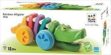 Cover-Bild zu Alligator Regenbogen