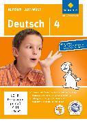 Cover-Bild zu Alfons Lernwelt. Deutsch 4. Aktuelle Ausgabe. EL von Flierl, Ute