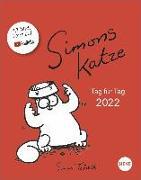 Cover-Bild zu Simons Katze Tagesabreißkalender 2022 von Tofield, Simon