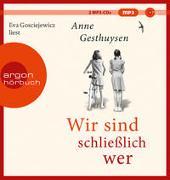 Cover-Bild zu Wir sind schließlich wer von Gesthuysen, Anne