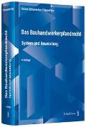 Cover-Bild zu Das Bauhandwerkerpfandrecht (PrintPlu§) von Schumacher, Rainer