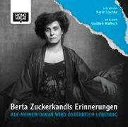Cover-Bild zu Auf meinem Diwan wird Österreich lebendig von Zuckerkandl, Berta