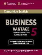 Cover-Bild zu Cambridge English Business Vantage 5. Student's Book von Cambridge ESOL